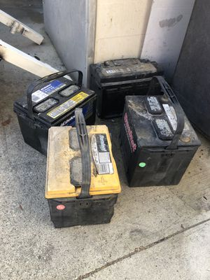 Car battery's for Sale in Los Angeles, CA