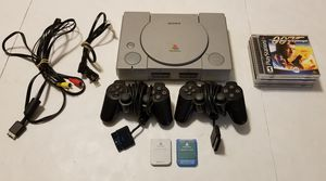 Playstation 1 Complete Bundle With 5 Games for Sale in St. Petersburg, FL