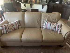 Italian leather sofa for Sale in Richland, WA