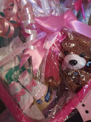 Baby girl gift basket for Sale in West Columbia, SC