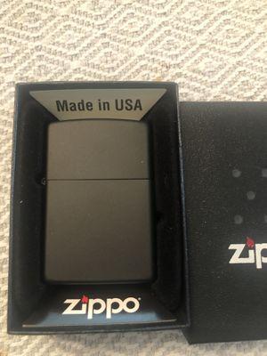 Zippo lighter - brand new black matte for Sale in Long Beach, CA