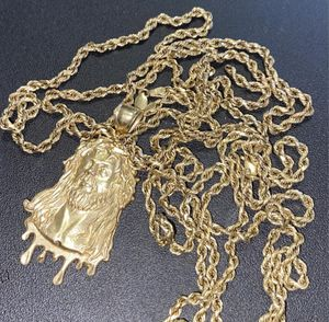 2 10kt Gold Chains with Charm for Sale in Oxon Hill, MD