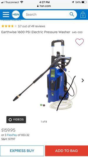 Earthwise 1600 psi pressure washer for Sale in Pomona, CA