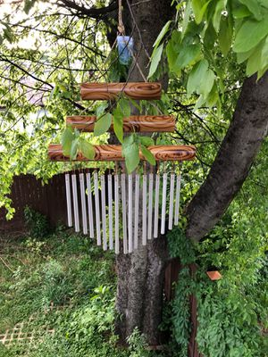 Pyramid Tri-Base Bamboo w/ 17 Tubes Wind Chime for Sale in Nashville, TN