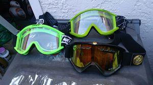 Dirt Bike goggles for Sale in Castro Valley, CA