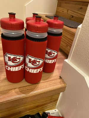Chiefs water bottle $11 ea for Sale in Anchorage, AK