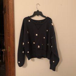 cropped star sweatshirt for Sale in Tarrytown,  GA