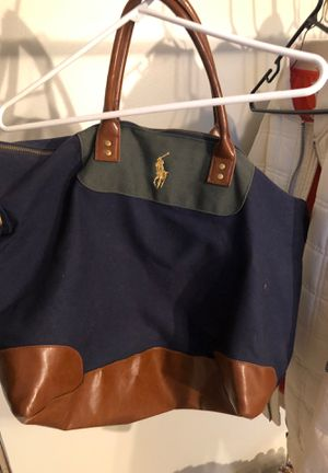 Polo Ralph Lauren duffle bag for Sale in Wichita, KS
