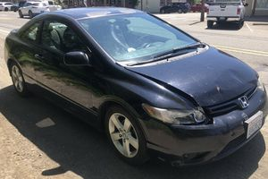 2007 Honda Civic 212,000 miles Flushed Tranny 2 years ago Needs Body Work for Sale in Renton, WA