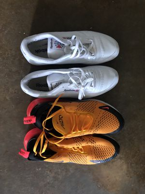 Airmax 270 and Reebok classic mens 13 for Sale in Houston, TX