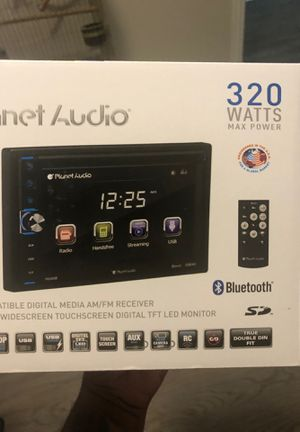 "Planet audio 6.5"" touchscreen for Sale in Dallas, TX"