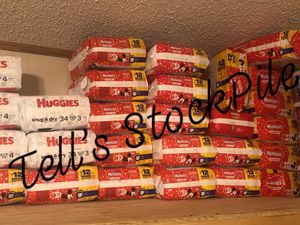 Huggies Diapers for Sale in Dover, FL