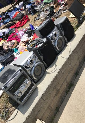 AIWA STEREO SYSTEMS WITH SPEAKERS for Sale in Imperial Beach, CA