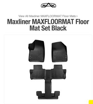 New Maxliner fitted floormats for 2017-19 Gmc Acadia. 3 row set for Sale in Georgetown, KY