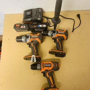 3 Ridgid Drills for Sale in Houston, TX