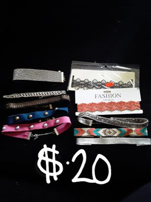 PICK UP SALE ONLY...now $20 all new chockers for Sale in Suitland, MD