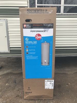 Brand New 50 Gal Water Heater (Rheem) for Sale in Denver, CO