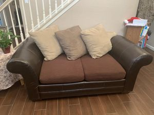 Sofa, loveseat, electric leather sofa for Sale in Merced, CA