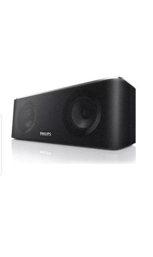 Philips SB365/37 Portable Bluetooth / NFC Speaker - Black for Sale in Federal Way, WA