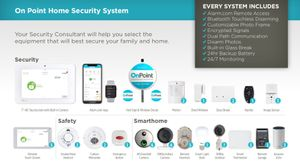 Smart Home Security Alarm System With video Doorbell & Cameras. Equipment & Installation Cost Waived for Sale in Chandler, AZ