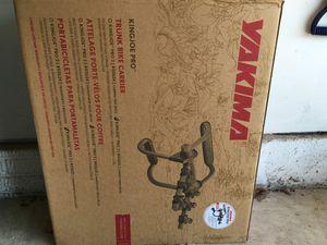 Yakima trunk bike carrier for Sale in Ashburn, VA