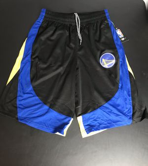 NBA Golden State Warriors Mens Official Game Basketball Shorts New with tags Size Small for Sale in French Creek, WV