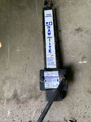 DRAW TITE DRAWTITE HITCH SWAY CONTROL BAR FOR CAMPER TRAILER TOWING for Sale in Miami, FL