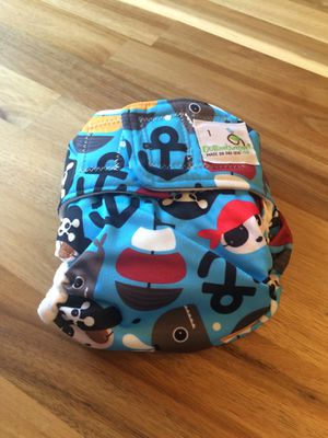Cloth Diaper - All in Two Style with attachable pads for Sale in Port St. Lucie, FL