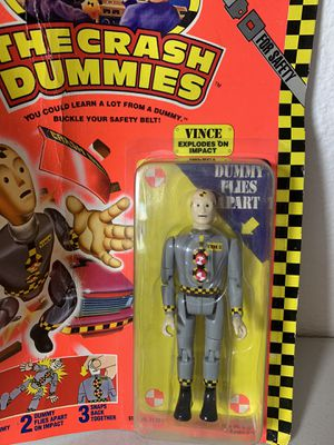 Crash Test Dummies Vince 1991 vintage action figure Tyco for Sale in Hillsboro, OR