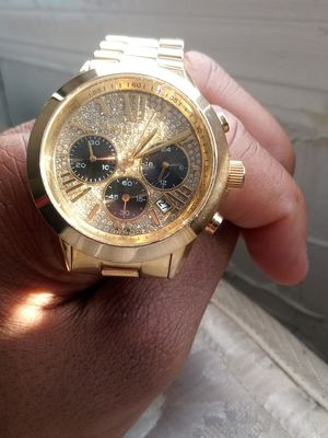 Gold and Diamond Michael Kors Watch for Sale in District Heights, MD