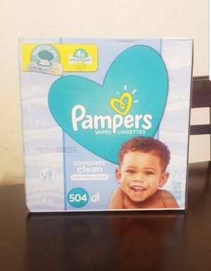 Pampers Wipes for Sale in Los Angeles, CA