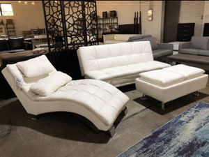 Leather living room set for Sale in Irving, TX
