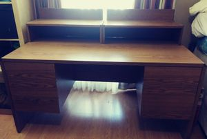 Sturdy Wood Desk for Sale in Valrico, FL