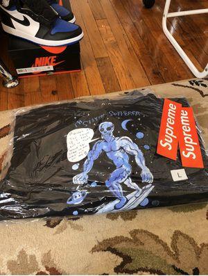 Supreme Daniel Johnston Hooded Sweatshirt M for Sale in Centreville, VA
