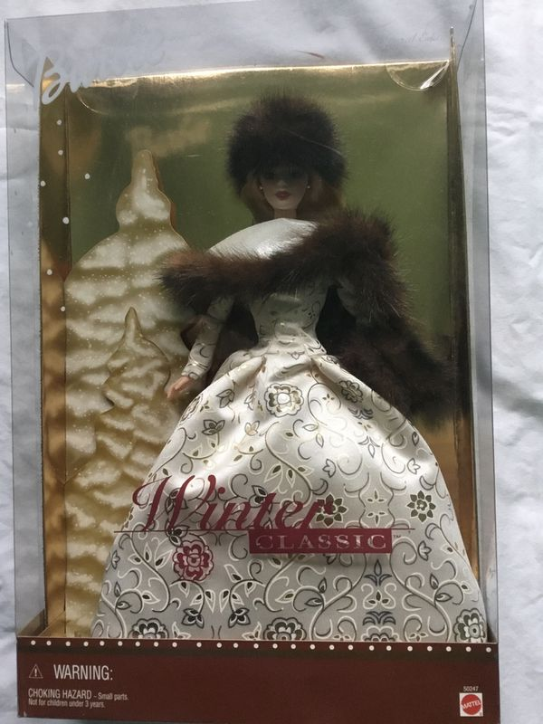 Barbie Winter Classic 2001 Special Edition Collectible New in box