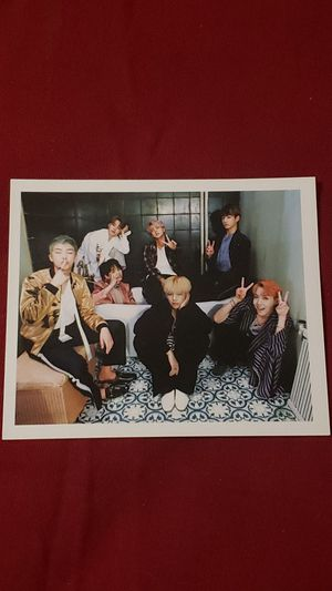 Bts Wings Group Photocard for Sale in Addison, IL