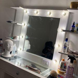 Vanity Mirror + Table for Sale in Los Angeles, CA