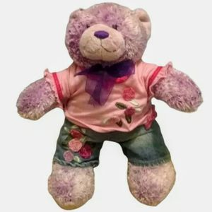 Build A Bear Frosted Purple Plush for Sale in Lambsburg, VA