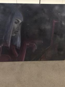 """Available Unique 3D Masterpiece Bro The Fairy Queen Wall Canvas 40""""W33""""H Pick Up Gaithersburg Md20877 Cash Only for Sale in Gaithersburg,  MD"""