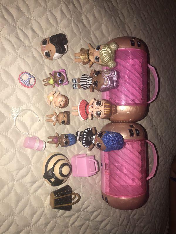 beautiful tiny dolls LOL
