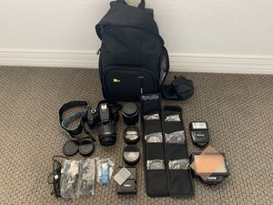 Canon Rebel T6 + accessories for Sale in Queen Creek, AZ