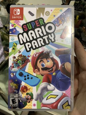 Super mario party nintendo switch game for Sale in North Las Vegas, NV