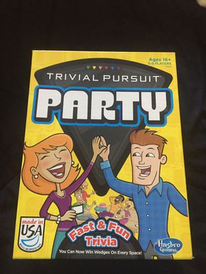 Party trivia board game for Sale in Tulare, CA