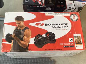 Bowflex SelectTech 552 5-52lb Adjustable Weight Adjustable Dumbbell for Sale in Corona, CA