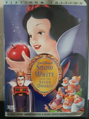 Snow white DVD for Sale in Temecula, CA