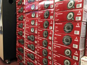 Pioneer Car Audio speakers on sale today please call or text for prices for Sale in Los Angeles, CA