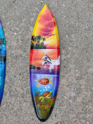 Tiki Surfboard Airbrushed for Sale in Roseville, CA