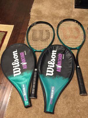 Wilson advantage Midside. Super high beam series L3, 4 3/8. Tennis Racket. for Sale in Clackamas, OR