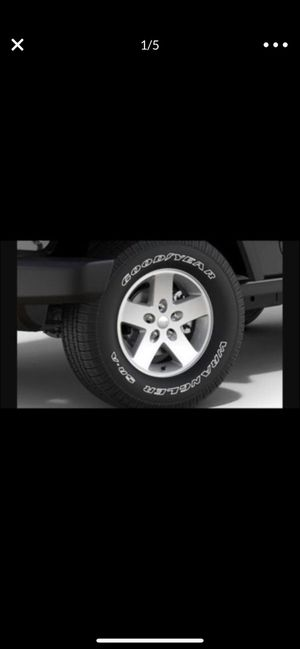17in Tires & Wheels (set of 5) for Sale in Seattle, WA