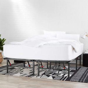 Foldable Metal KING size Platform Bed Frame / Mattress Foundation for Sale in Modesto, CA